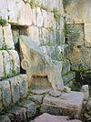 Astarte's throne at the Eshmun temple