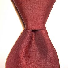 a235205dafb6 A half Windsor knot with a dimple