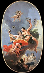 Tiepolo, Giovanni Battista - The Triumph of Zephyr and Flora - 1734-35.jpg