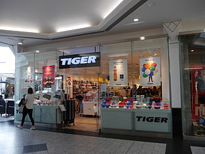 Flying Tiger Copenhagen - Tiger store, Putney, London