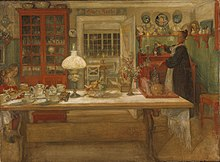 The Swedish Artists Carl Larsson And Karin Bergoo Were Inspired By Arts Crafts Movement When Designing Their Home