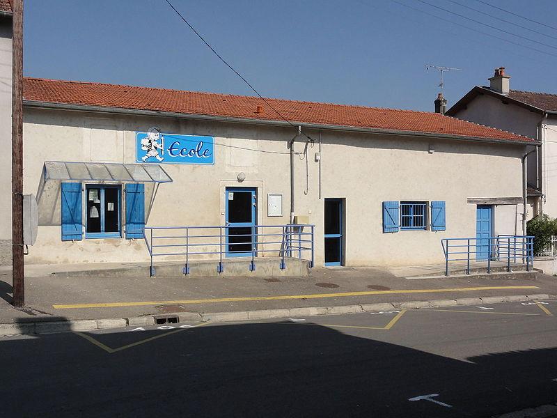 Tilly-sur-Meuse (Meuse) école
