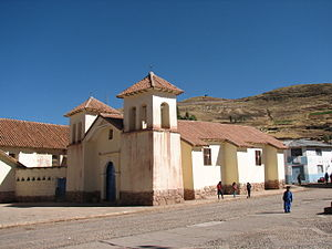 Tinta District - Church in Tinta