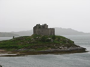 Clan Macdonald of Clanranald - Castle Tioram is the traditional seat of the Clan MacDonald of Clanranald.