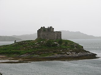 Alasdair mac Mhaighstir Alasdair - Castle Tioram is the traditional seat of the Clan MacDonald of Clanranald.