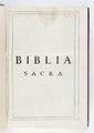 Titelblad till bibel från 1618 på latin - Skoklosters slott - 93187.tif