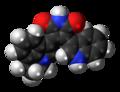 Tivantinib molecule spacefill.png