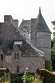 Toitures du château de Tocqueville, Tocqueville, France.jpg