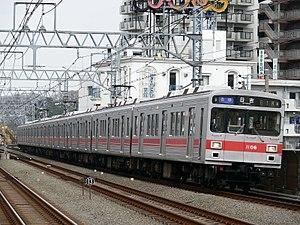 Tokyu Corporation - Image: Tokyu 1000 8cars