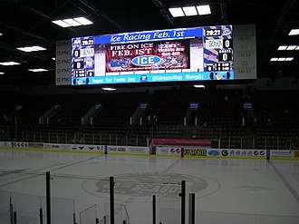 Wings Event Center - Image: Toledo Walleye vs. Kalamazoo Wings January 2014 03
