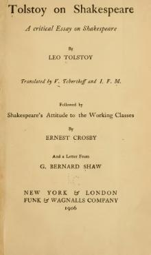 Tolstoy on Shakespeare.djvu