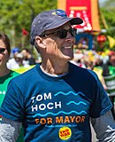 Tom Hoch, Minneapolis MayDay Parade, May 2017 (cropped).jpg
