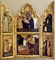 Tommaso barisini da modena, madonna col bambino, santi e scene della vita di cristo, 1345-55 ca. 01.jpg