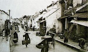 Old Quarter, Hanoi - Hàng Mắm street around 1905