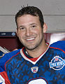 Tony Romo before 2008 Pro Bowl (cropped).JPEG