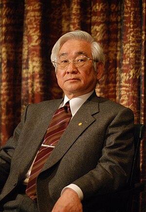 Toshihide Maskawa - Maskawa in 2008