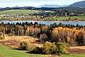 Tourbière et lac de Remoray
