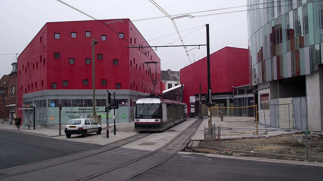 New tram terminus in Tourcoing