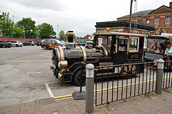 Trackless train at the National Railway Museum (9013).jpg
