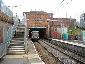 Trafford Bar tram stop - Image: Trafford Bar Metrolink station