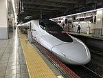 Train for Hakata-Minami Station at Hakata Station.jpg