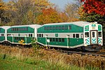 Trainspotting GO train -440 headed by MPI MP40PH-3C -615 (8123534920).jpg