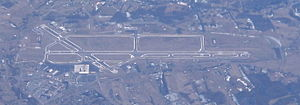 Tri-Cities Regional Airport - Image: Tri Cities Airport 20100115 0325
