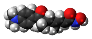 Trichostatin A - Image: Trichostatin A 3D spacefill