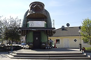 Årjäng - The Årjängstrollet statue in Årjäng
