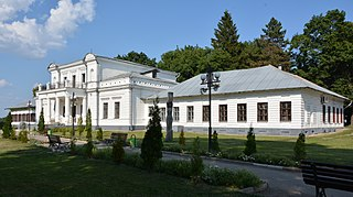 Trostianets city in Sumy Oblast, Ukraine
