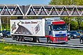 Truck Spotting on the A16 Direction Zwijndrecht 19 04 2019.... Not the Best spot with the Barrier , But better than Nowt . (32701634637).jpg