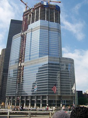 Hoist (device) - A hoist on the Trump International Hotel & Tower-Chicago