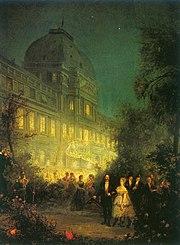 第二帝国时期杜伊勒里宫的晚会,1867年6月10日
