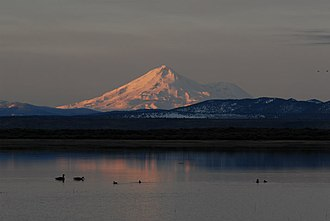 Tule Lake National Wildlife Refuge - Mount Shasta