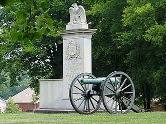 Battle of Tupelo - Battle of Tupelo Memorial, 2006