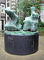 Two Piece Reclining Figure No.1 Sculpture By Henry Moore At 45 Millbank - London.jpg