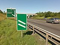 Two Signs on the A50 - geograph.org.uk - 1369347.jpg