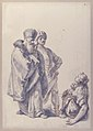 Two Standing Male Figures and Seated Woman with a Child MET 61.56.2.jpg