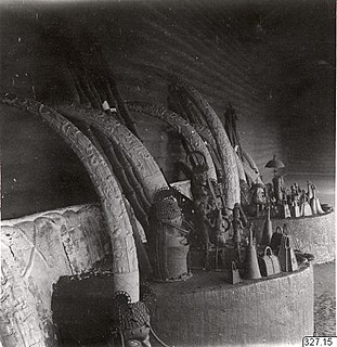 Benin ancestral altars