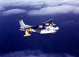 U.S. Coast Guard Martin P5M-2G Marlin in flight on 28 January 1958 (NNAM.2001.261.012).jpg