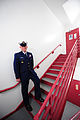 U.S. Coast Guard Senior Chief Petty Officer Kevin Edwardsposes for a photo in his service dress blue uniform in Philadelphia April 3, 2013 130403-G-NB914-014.jpg
