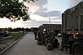 U.S. Sailors assigned to Naval Mobile Construction Battalion 11 load gear and baggage in preparation for a field exercise (FEX) at Camp Shelby, Miss., May 5, 2013 130505-N-UH337-011.jpg