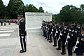 "U.S. Soldiers with the 3rd Infantry Regiment ""The Old Guard"" participate in a wreath-laying ceremony with Commander-in-Chief of the Royal Thai Army Gen. Prayuth Chan-ocha at the Tomb of the Unknowns at Arlington 130606-A-AO884-220.jpg"