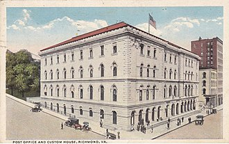 Lewis F. Powell Jr. United States Courthouse - U. S. Post Office and Courthouse 1912