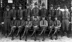 Reserve Officers' Training Corps - ROTC at the University of Florida during the 1920s