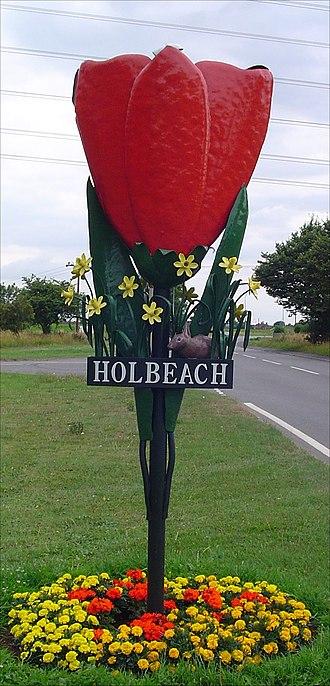 Holbeach - Holbeach signpost
