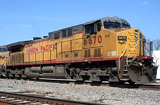 In the United States, railroads such as the Union Pacific traditionally own and operate both their rolling stock and infrastructure, with the company itself typically being privately owned. UP 6670.jpg