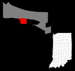 Ambridge Mann Neighborhood in Lake County, Indiana, United States