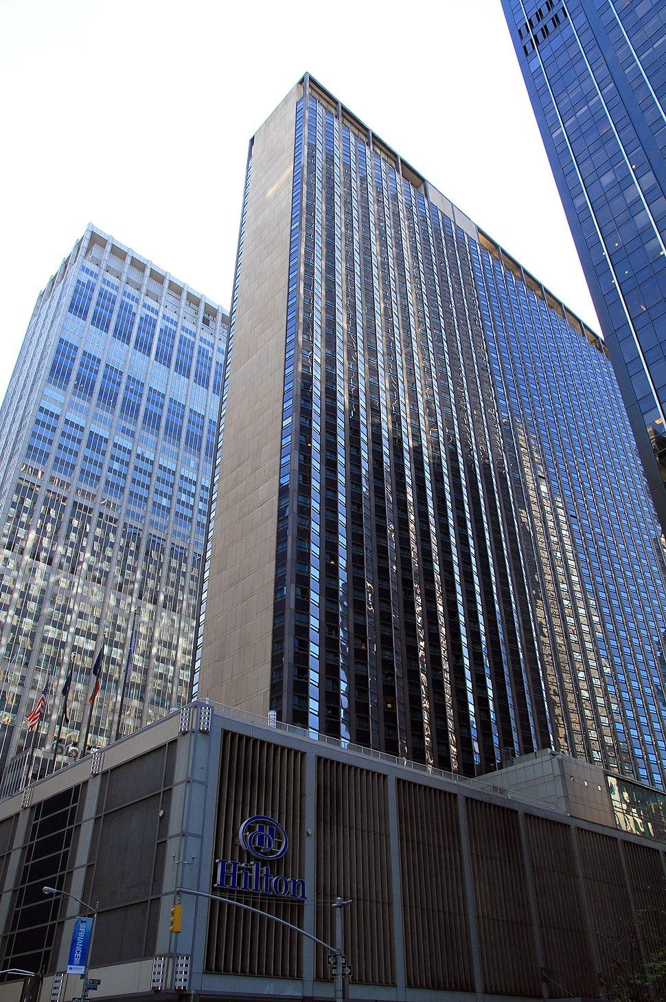 USA-NYC-Hilton Hotel