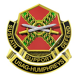 Camp Humphreys United States Army garrison in South Korea